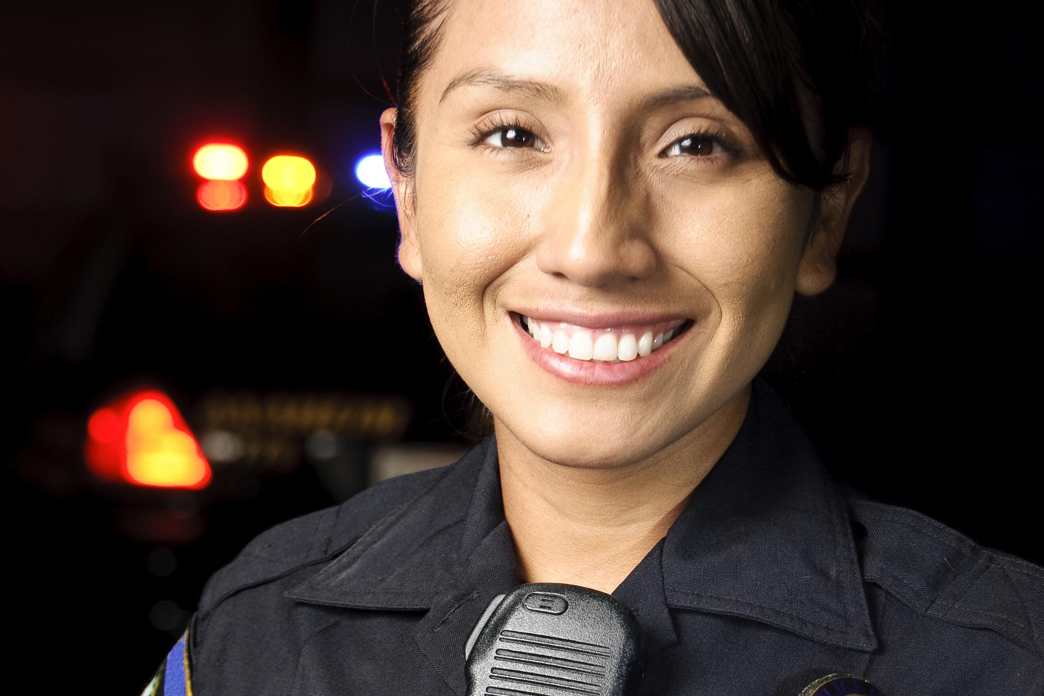 Good Female Police Officer